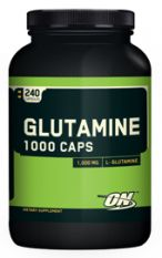 Optimum Nutrition, Glutamine 1000, 120 капс.