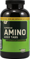 Optimum Nutrition, Amino 2222, 160 таб.